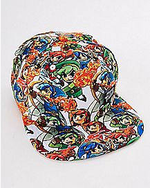 Legend of Zelda Tri Force Heroes Snapback Hat
