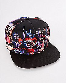 Five Nights at Freddy's Sister Location Snapback Hat