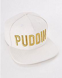 Harley Quinn Puddin Snapback Hat