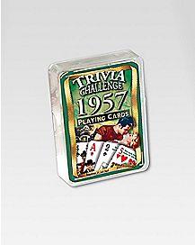 1957 Trivia Cards