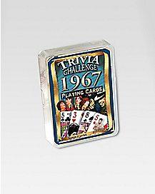 1967 Trivia Cards