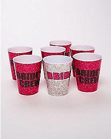 Bride Crew Shot Glass 7 Pack - 1.5 oz.