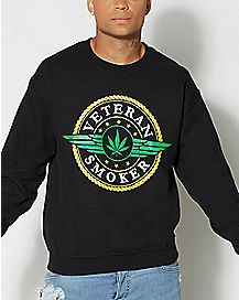 Veteran Smoker Crew Neck Sweatshirt