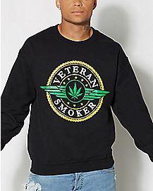 Veteran Smoker Crew Neck Sweatshirt