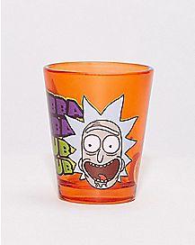 Rick and Morty Shot Glass - 1.5 oz