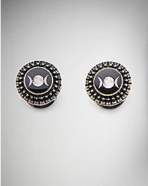 Black Moon Phases Plug - 00 Gauge