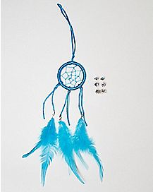 Blue Dreamcatcher and Earring 3 Pack Set