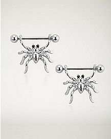 Spider Nipple Shields - 14 Gauge