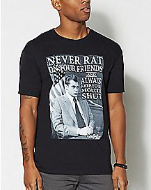 Never Rat Goodfellas T Shirt