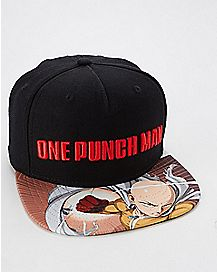 One Punch Man Snapback Hat