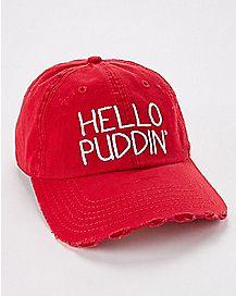 Hello Puddin' Harley Quinn Dad Hat