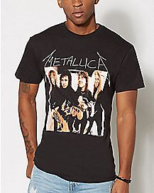 Group Metallica T Shirt