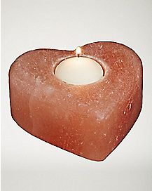 Love Rock Himalayan Salt Candle