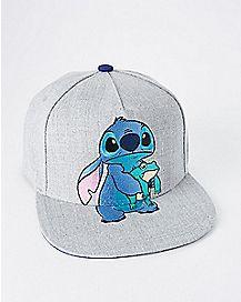 Stitch Frog Snapback Hat - Lilo & Stitch