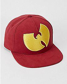 Maroon Wu-Tang Clan Snapback Hat