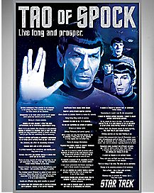 Tao of Spock Star Trek Poster