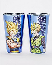 Dragon Ball Z Luster Pint Glass 2 Pack - 16 oz.