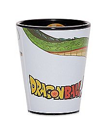 Inside Print Dragon Ball Z Shot Glass - 1.5 oz.