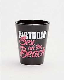Birthday Sex On The Beach Shot Glass - 1.5 oz.