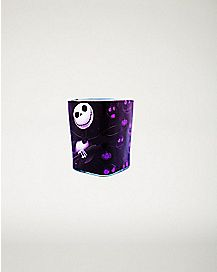 Square Jack Skellington Nightmare Before Christmas Mini Glass - 1.5 oz
