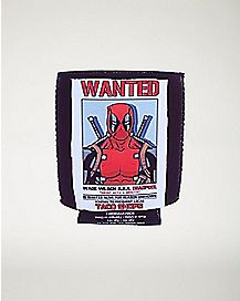 Wanted Deadpool Can Cooler - Marvel Comics