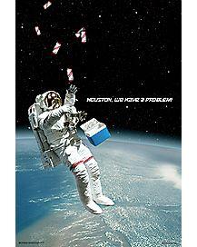 Beer Astronaut Poster