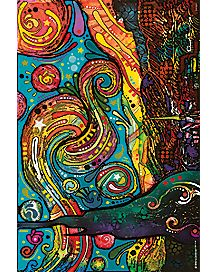 Dean Russo Starry Night Poster