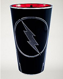 Black Flash Pint Glass 16 oz - DC Comics