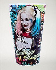 Harley Quinn Pint Glass 16 oz - DC Comics