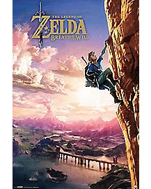 Legend of Zelda Breath of the Wild Poster