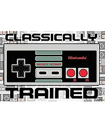 Classically Trained Nintendo Controller Poster