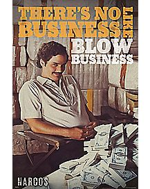 Narcos Blow Business Poster