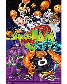 Space Jam Movie Art Poster