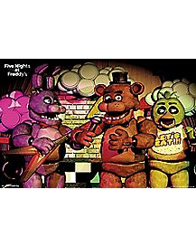 Band Poster - Five Nights At Freddy's