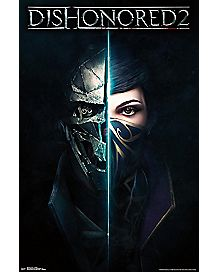 Dishonored 2 Game Release Poster