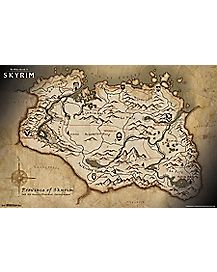 Skyrim Elder Scrolls V Map