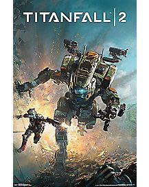 Titanfall 2 Game Release Poster