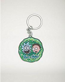 Portal Rick and Morty Keychain