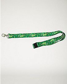 Portal Rick and Morty Lanyard