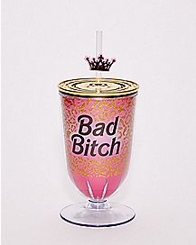 Bad Bitch Cup with Straw - 16 oz.