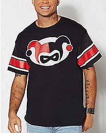 Chibi Harley Quinn Jersey T Shirt