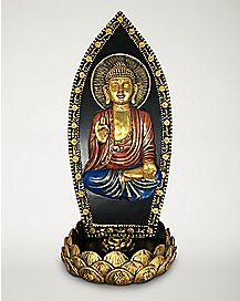 Sitting Buddha Incense Burner