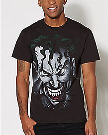 Airbrush Joker T Shirt