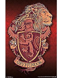 Gryffindor Harry Potter Poster