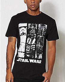 3 Panel Star Wars T Shirt
