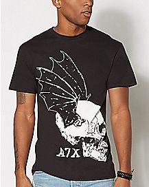 Skull Wing Avenged Sevenfold T Shirt