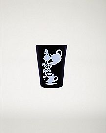 We're All Mad Here Alice In Wonderland Mini Glass - 1.5 oz
