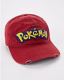 Red Pokemon Dad Hat