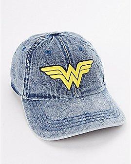 Denim Wonder Woman Dad Hat