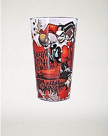 Harley Quinn Pint Glass - 16 oz